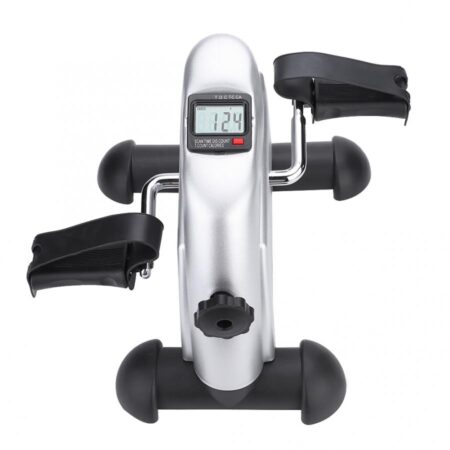 Mini Pedal Stepper Exercise Machine LCD Display Indoor Cycling Bike Stepper Treadmill Ttraining Apparatus For Home Office Gym